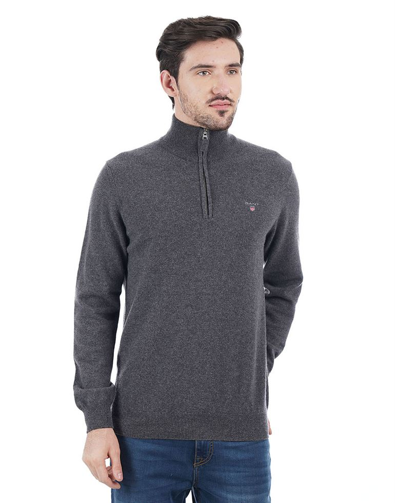 Gant Men Grey Pullover