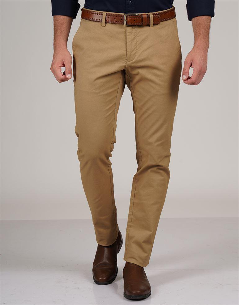 Gant Men Casual Wear Solid Trouser