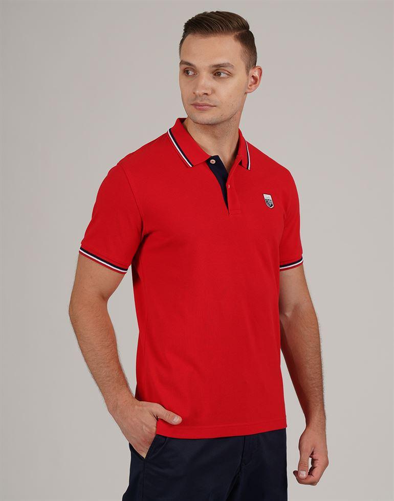 Gant Men Casual Wear Solid Polo T-Shirt