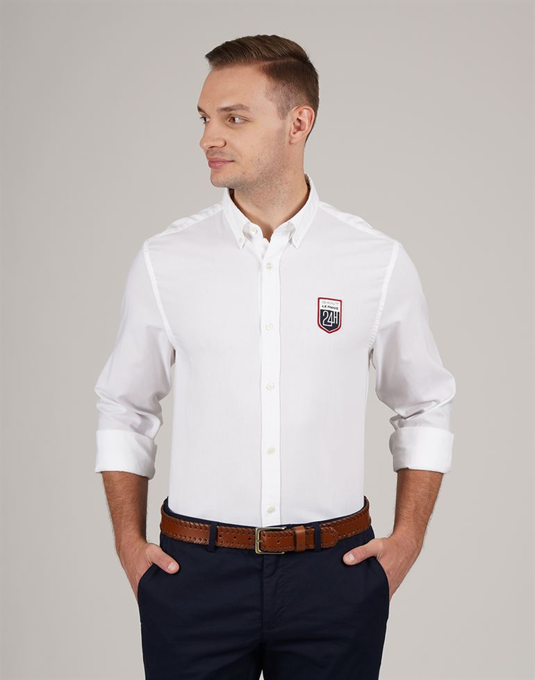 Gant Men Casual Wear Solid Shirt