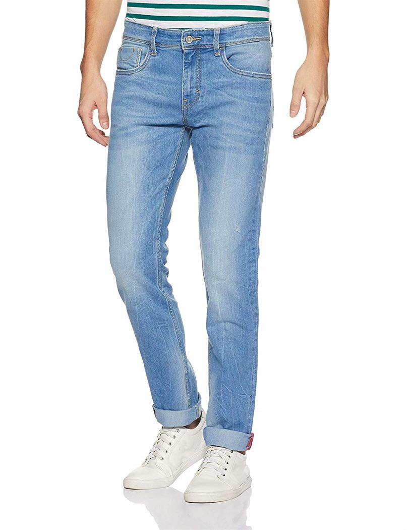 Izod Men Solid Casual Wear Jeans