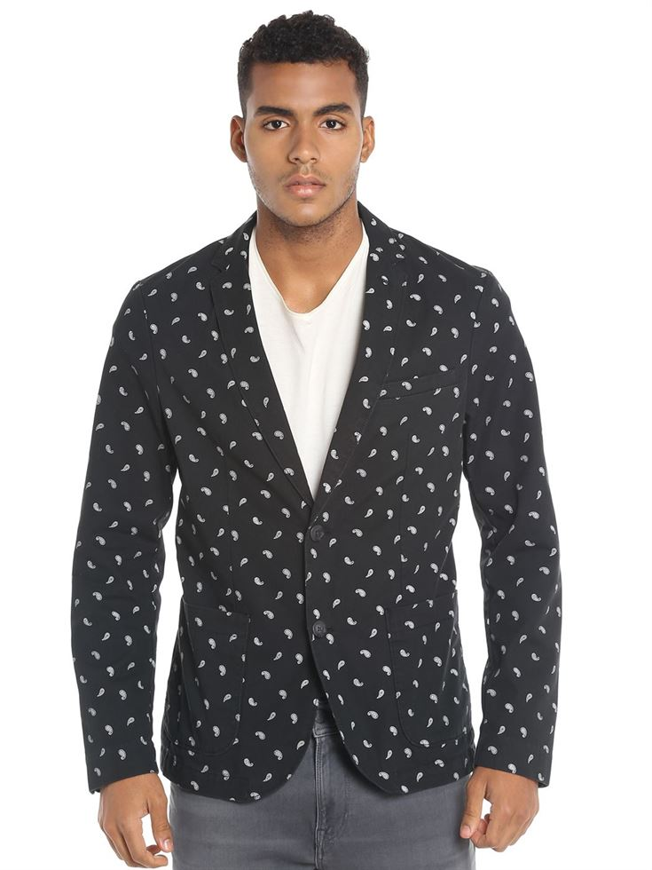 Jack & Jones Men Black Blazer