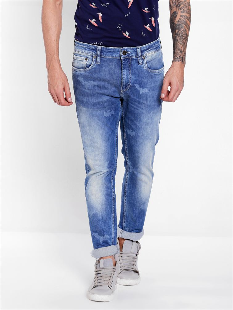 Jack & Jones Men Blue Jean