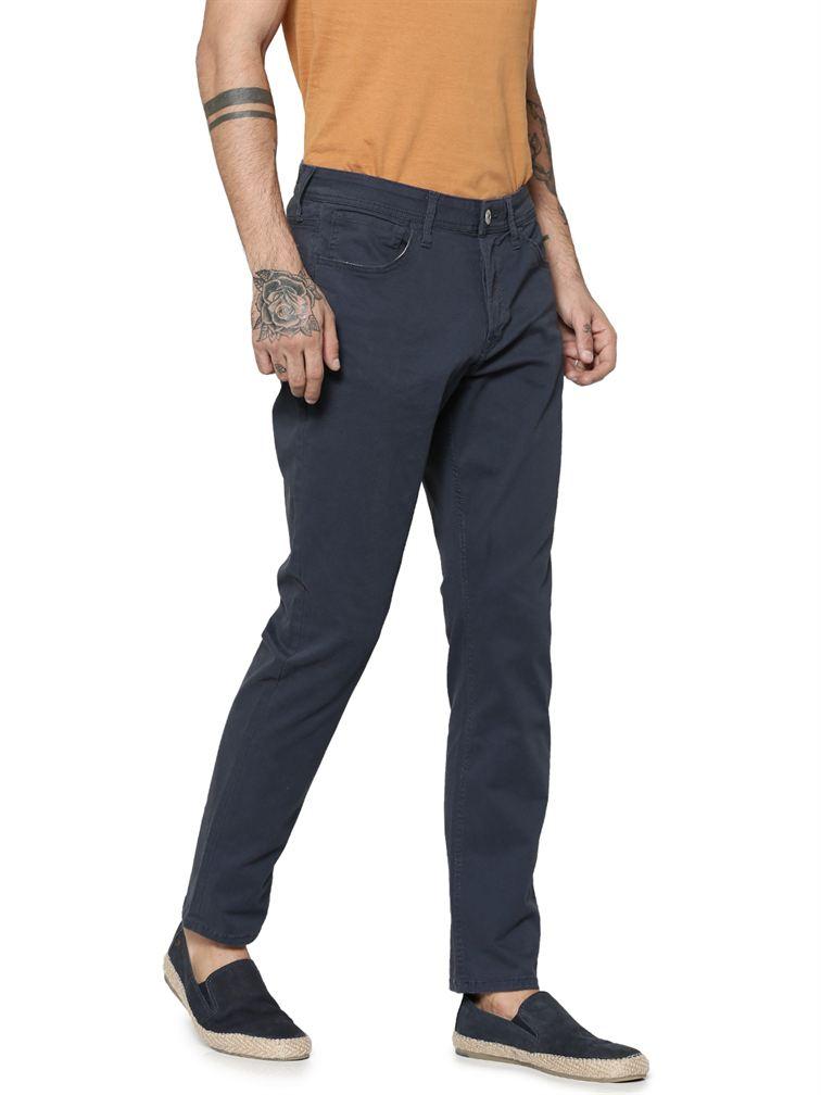 Jack & Jones Men Casual Navy Pants