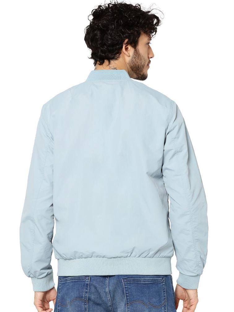Jack & Jones Men Casual Blue Jacket