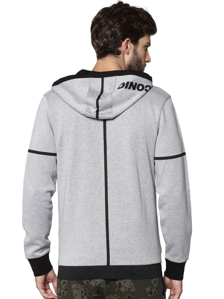 Jack & Jones Men Casual White Swetshirt