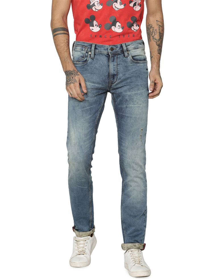 Jack & Jones Men Casual Blue Jeans