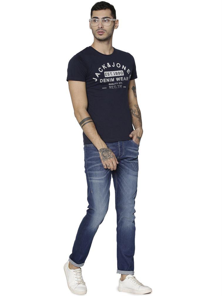 Jack & Jones Casual Printed Men T-Shirt