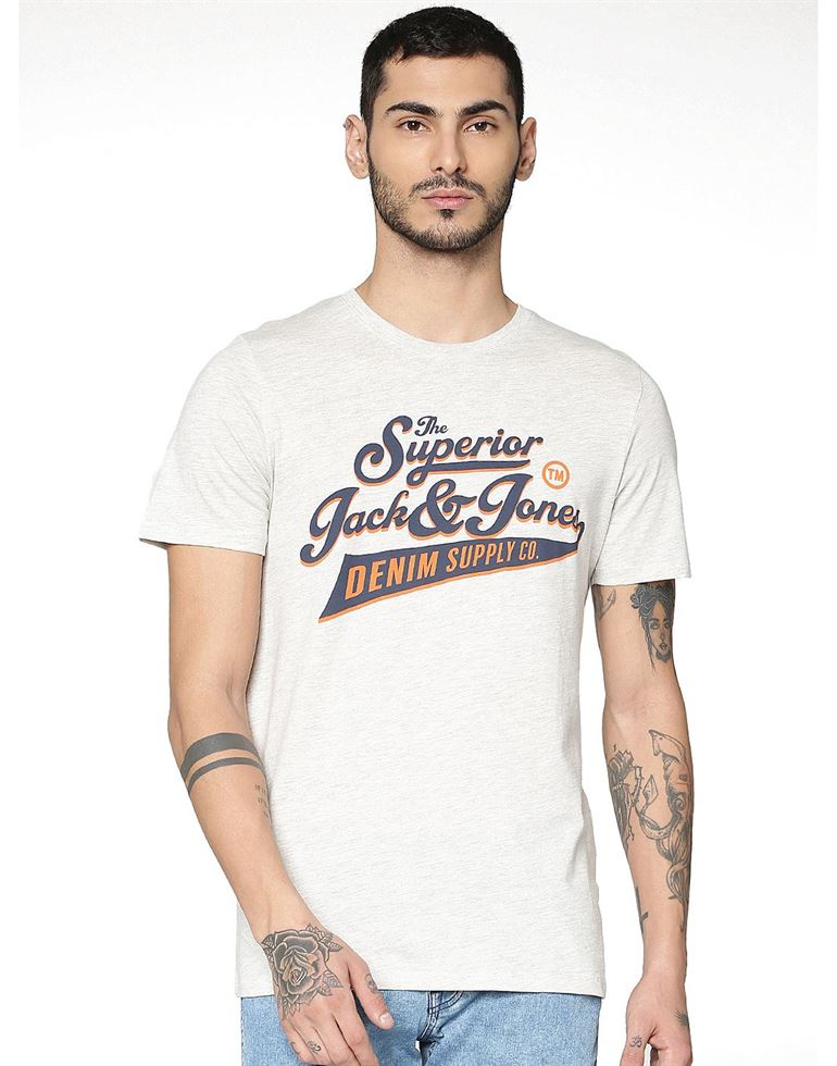 Jack & Jones Casual Printed Men T-Shirt