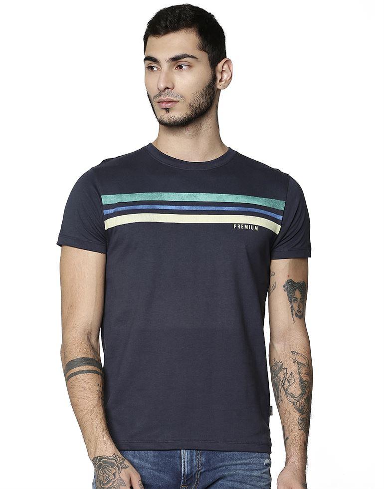 Jack & Jones Casual Graphic Print Men T-Shirt