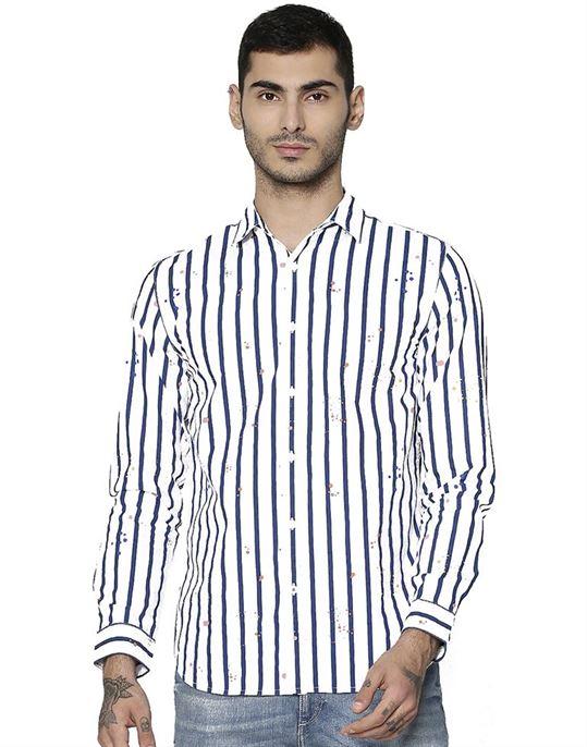 Jack & Jones Casual Striped Men Shirt