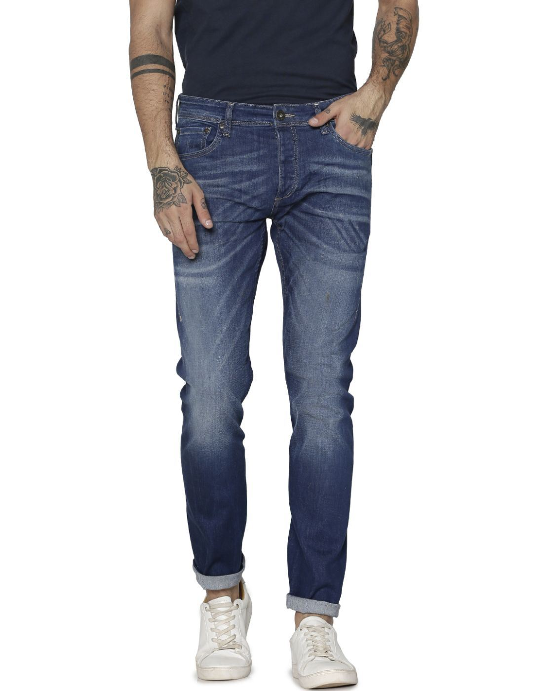 Jack & Jones Casual Solid Men Jeans