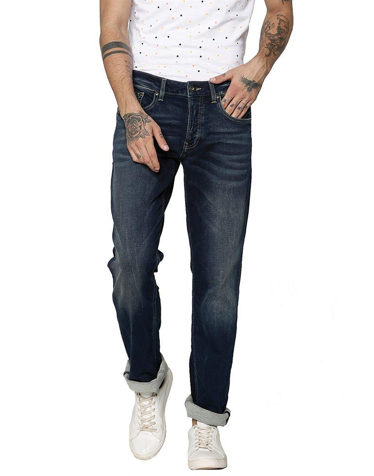 Jack & Jones Men Casual Blue Jeans