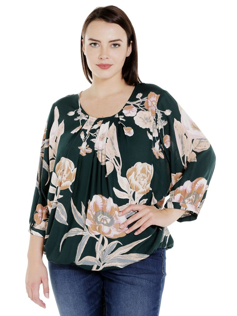Junarose Casual Printed Women Top