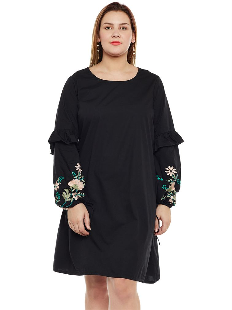 Junarose Casual Embroidered Women Dress