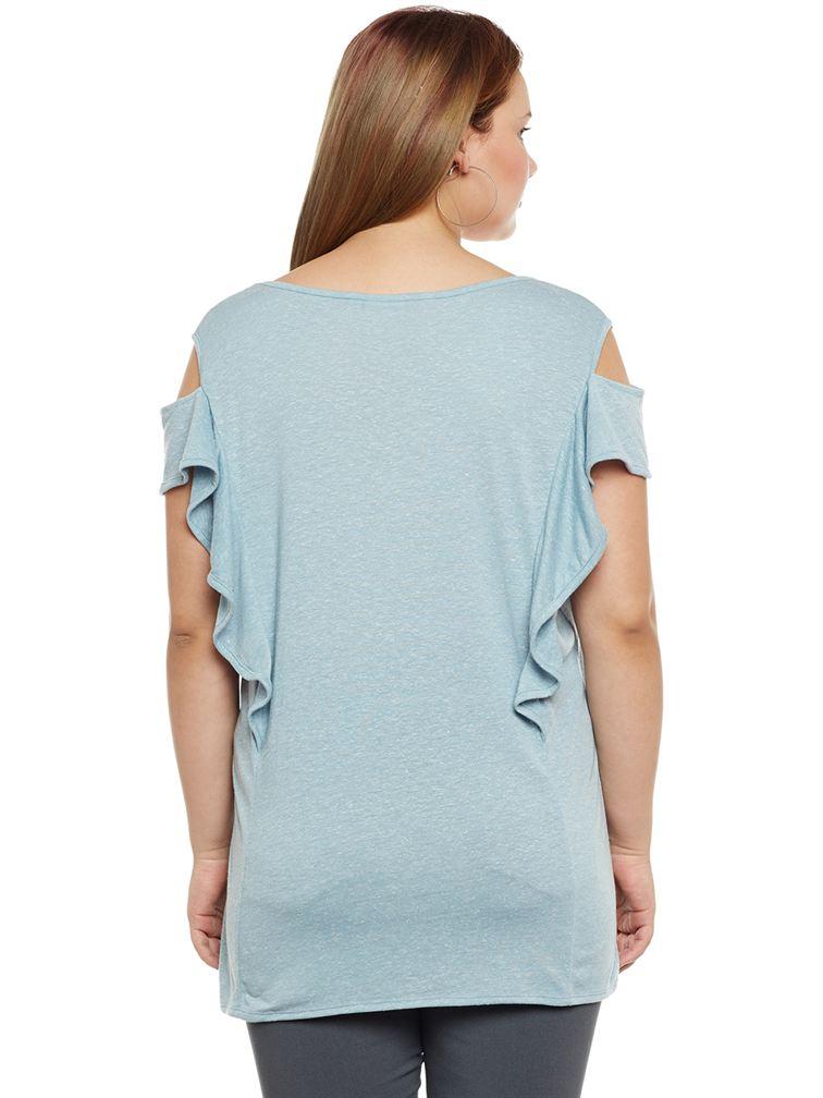 Junarose Women Casual Wear Solid Top