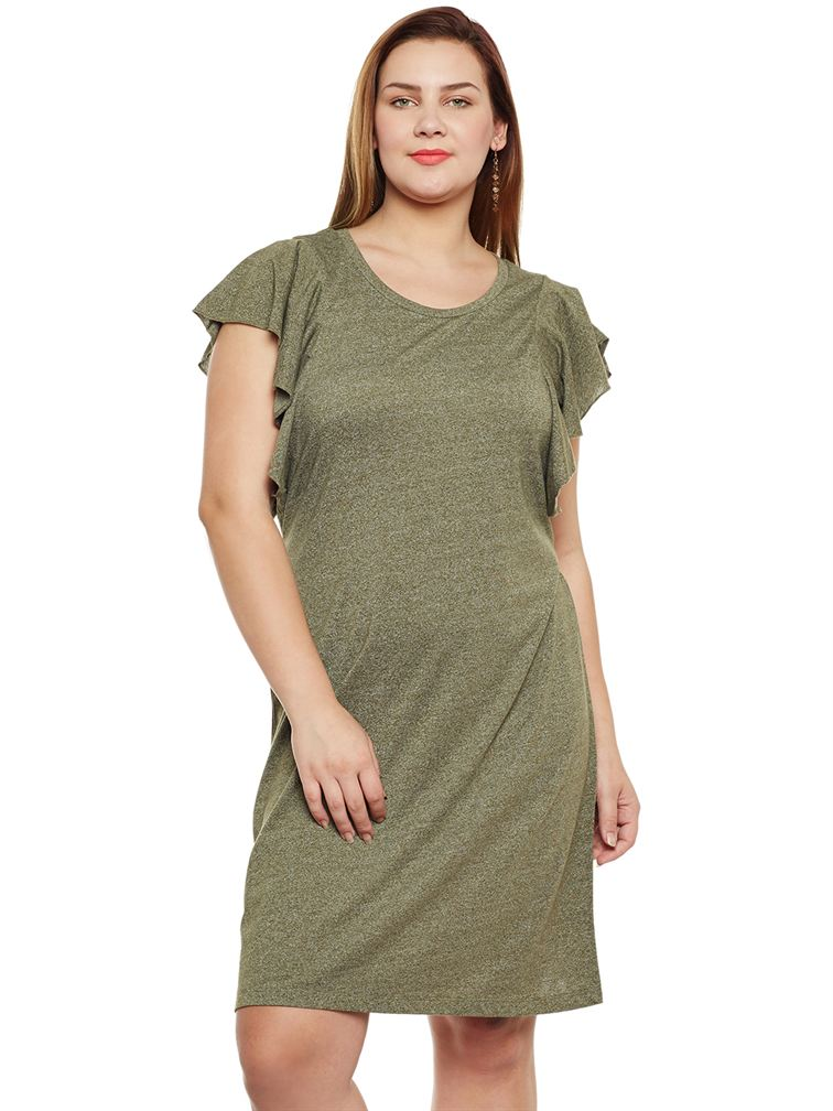 Junarose Casual Solid Women Dress