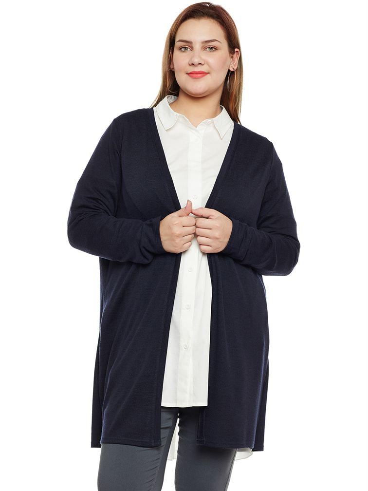 Junarose Casual Solid Women Cardigan