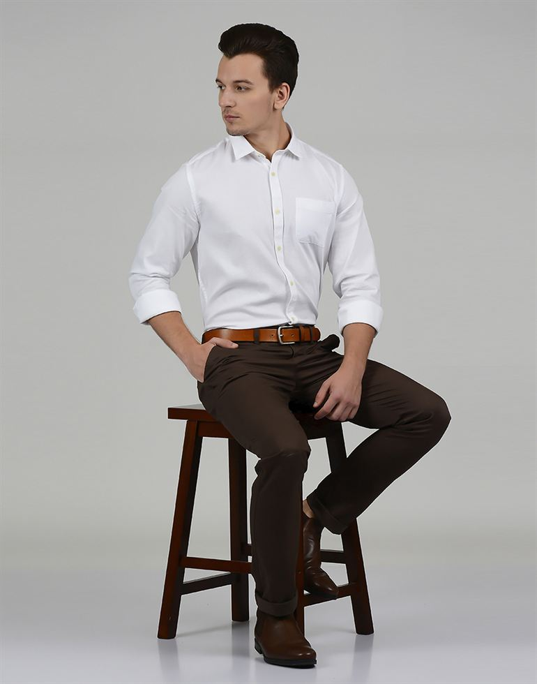 United Colors Of Benetton Casual Solid Men Pant