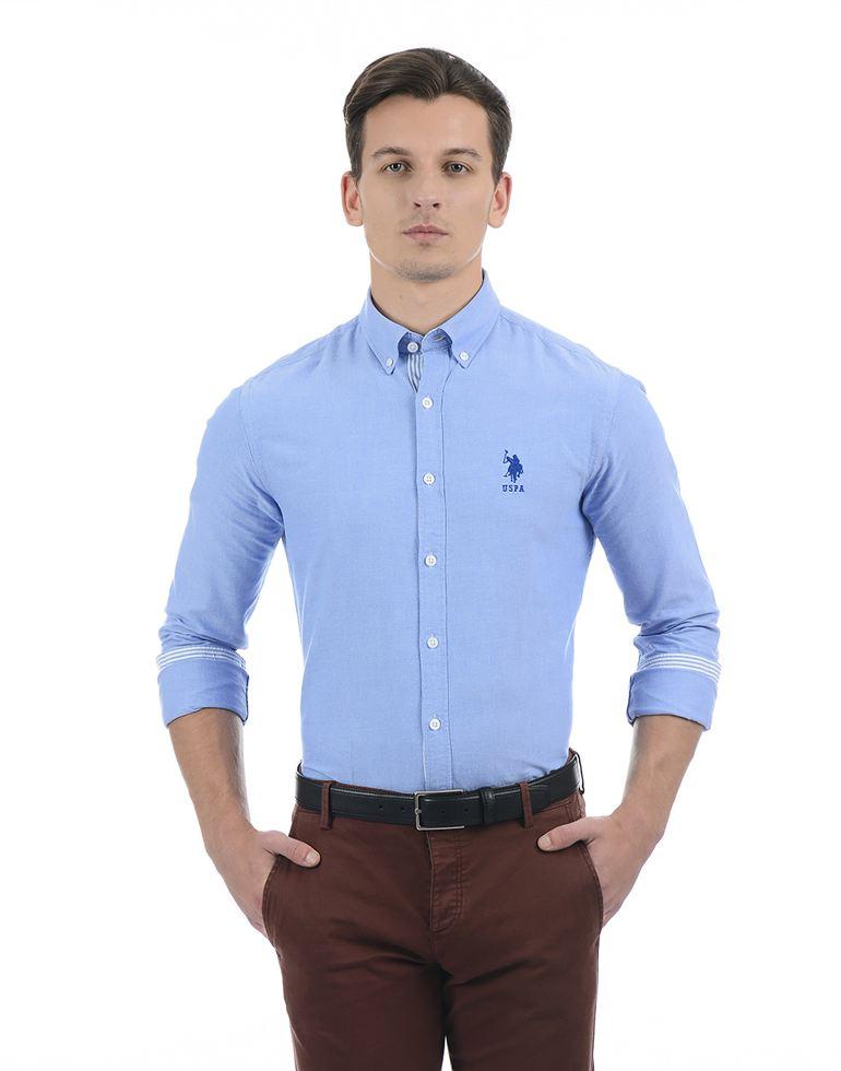 U.S. Polo Assn. Casual Solid Men Shirt