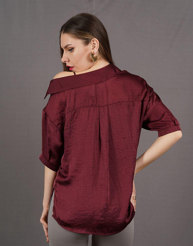 Kazo Women Casual Wear Solid Top