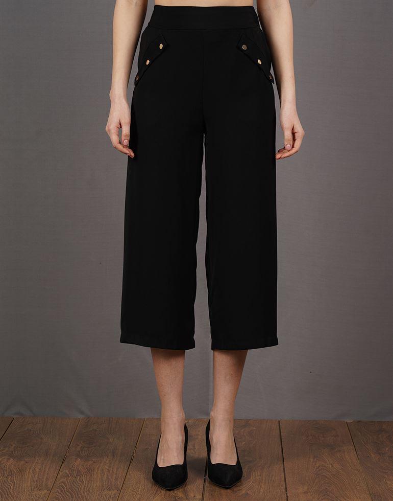 Kazo Casual Solid Women Culottes
