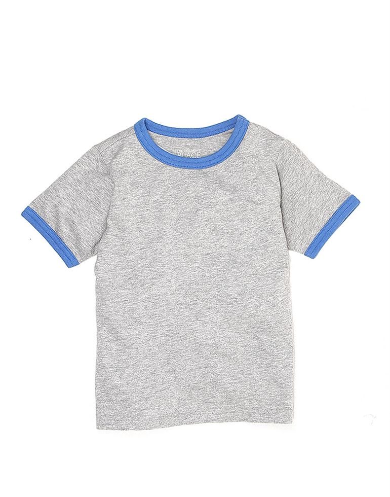The Children'S Place Casual Solid Boys T-Shirt