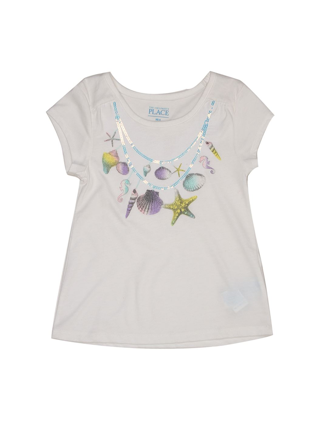 The Children's Place Girls Casual White Top