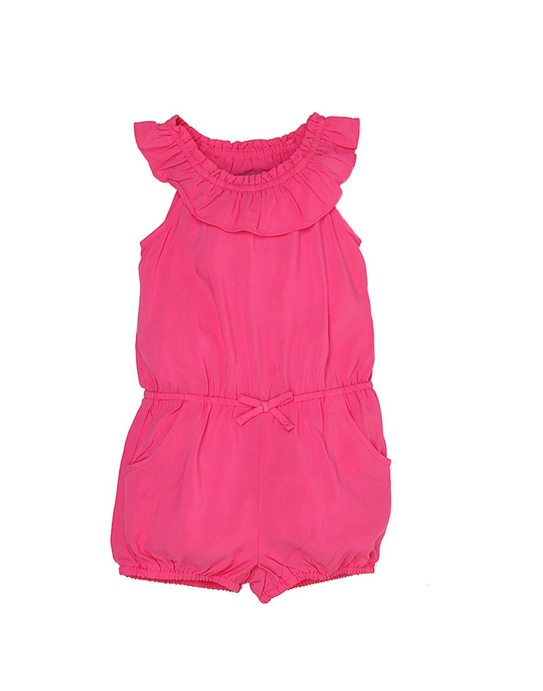 The Children's Place Baby Girls Casual Red Jumpsuit