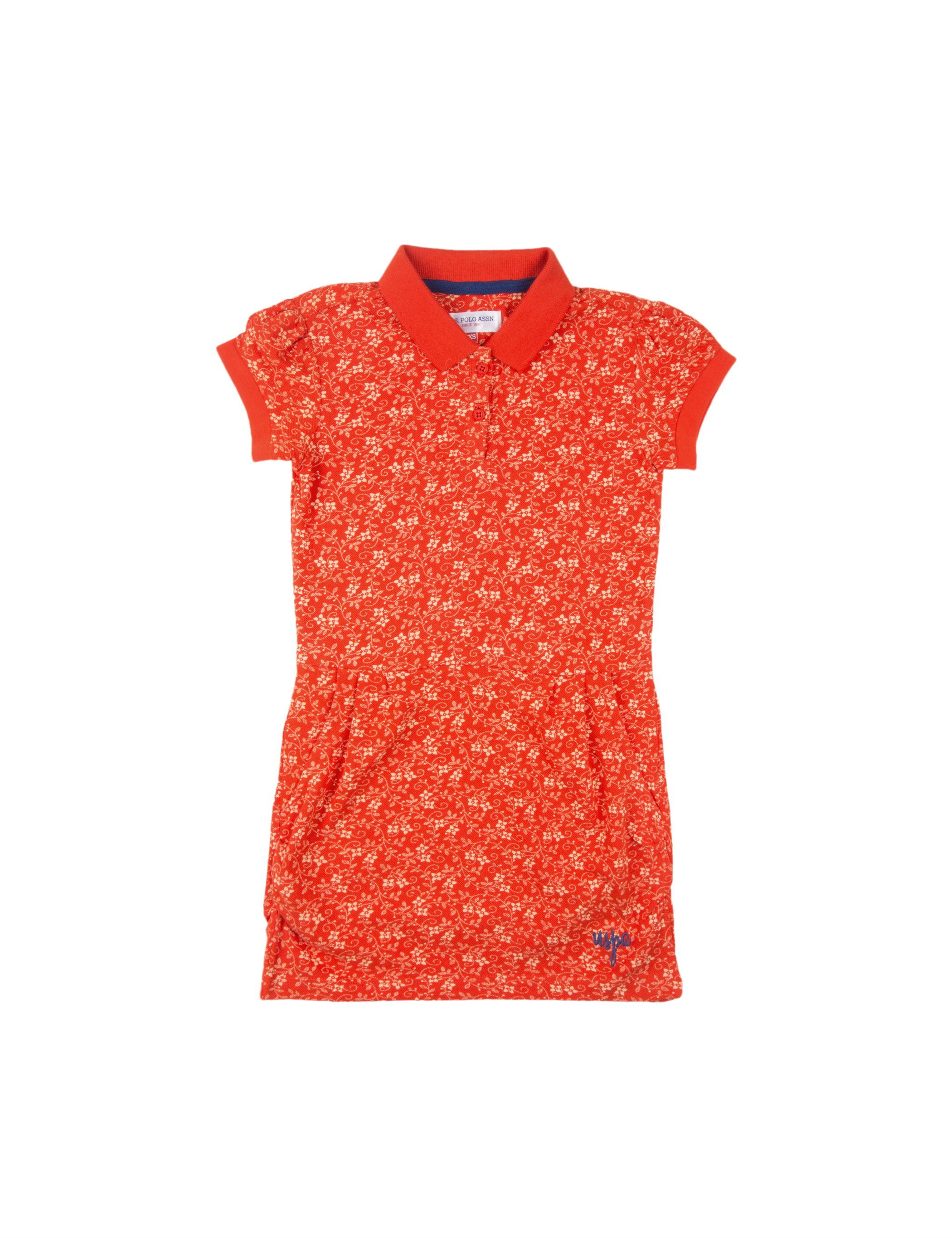 U.S. Polo Assn. Casual Printed  Dress
