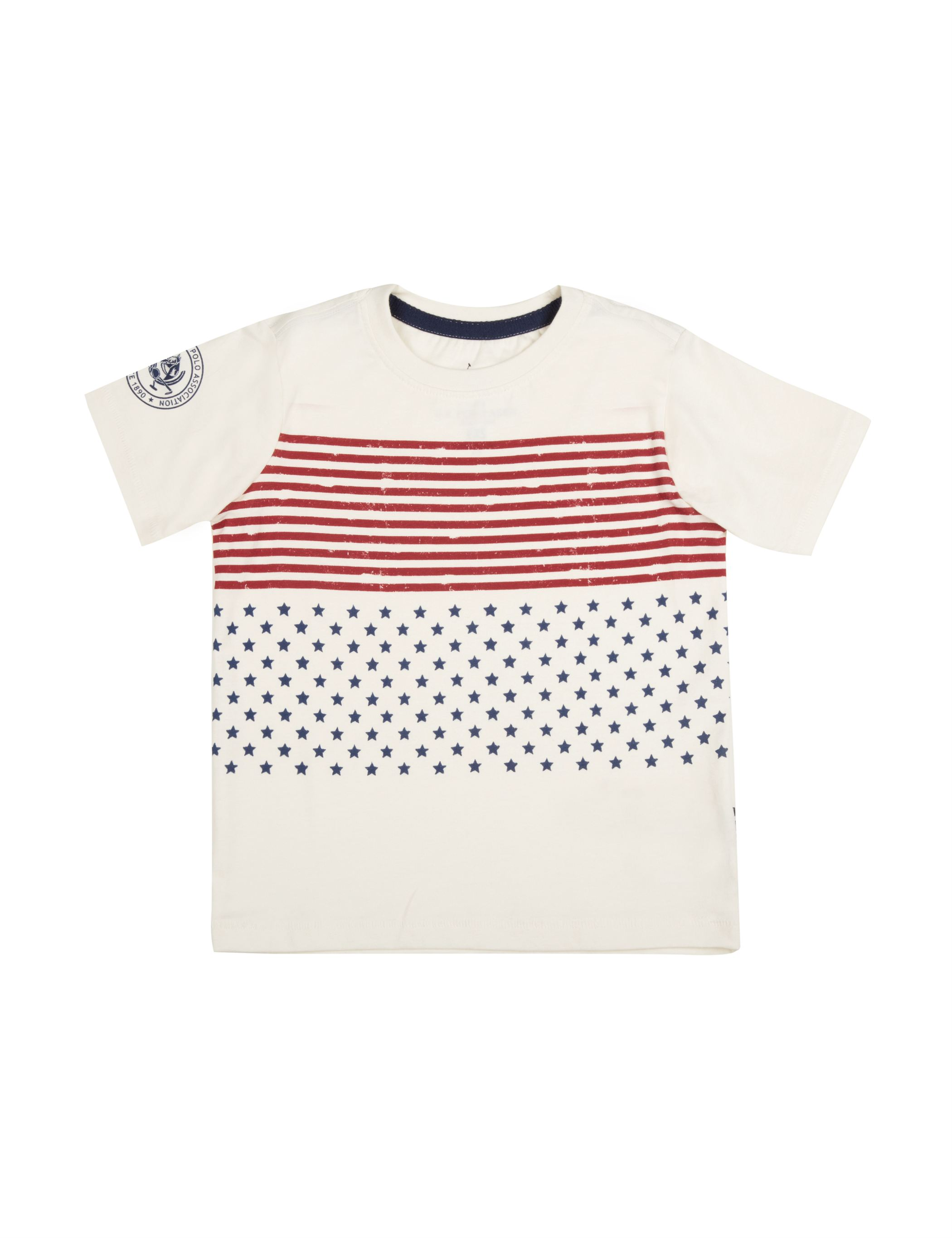 U.S. Polo Assn. Boys Cotton Printed T-Shirt