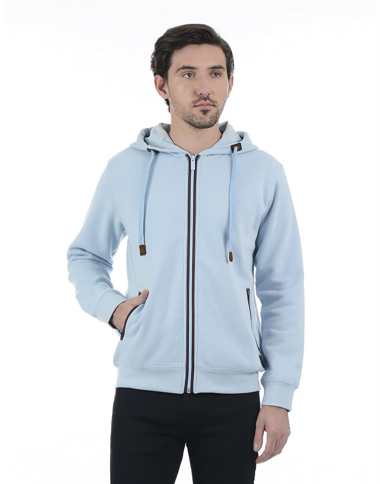London Fog Men Blue Sweat Shirt