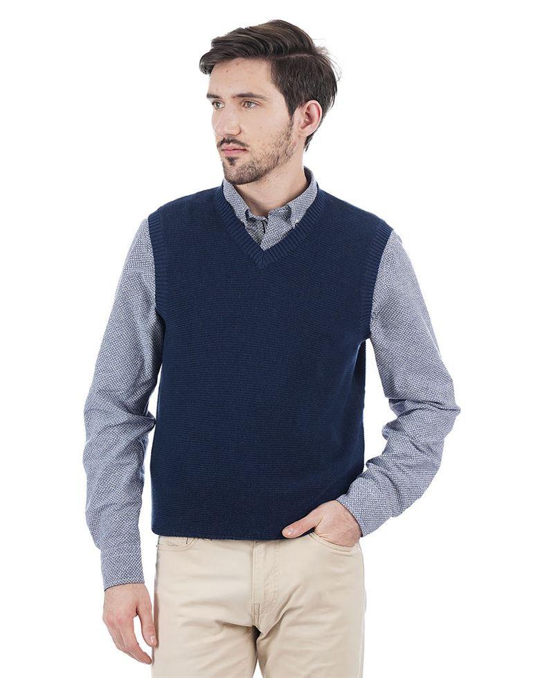 Nautica Men Casual Wear Solid Sweater