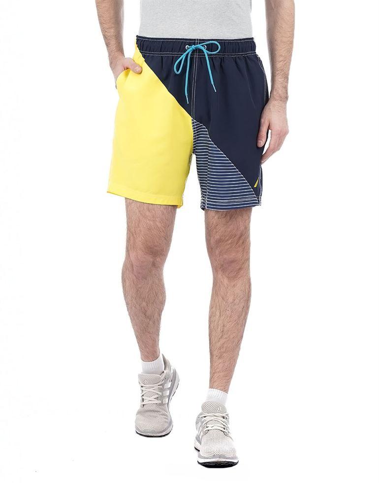 Nautica Men Casual Wear Solid Shorts