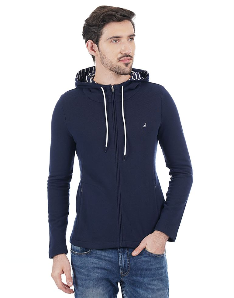Nautica Casual Solid Men Sweatshirt