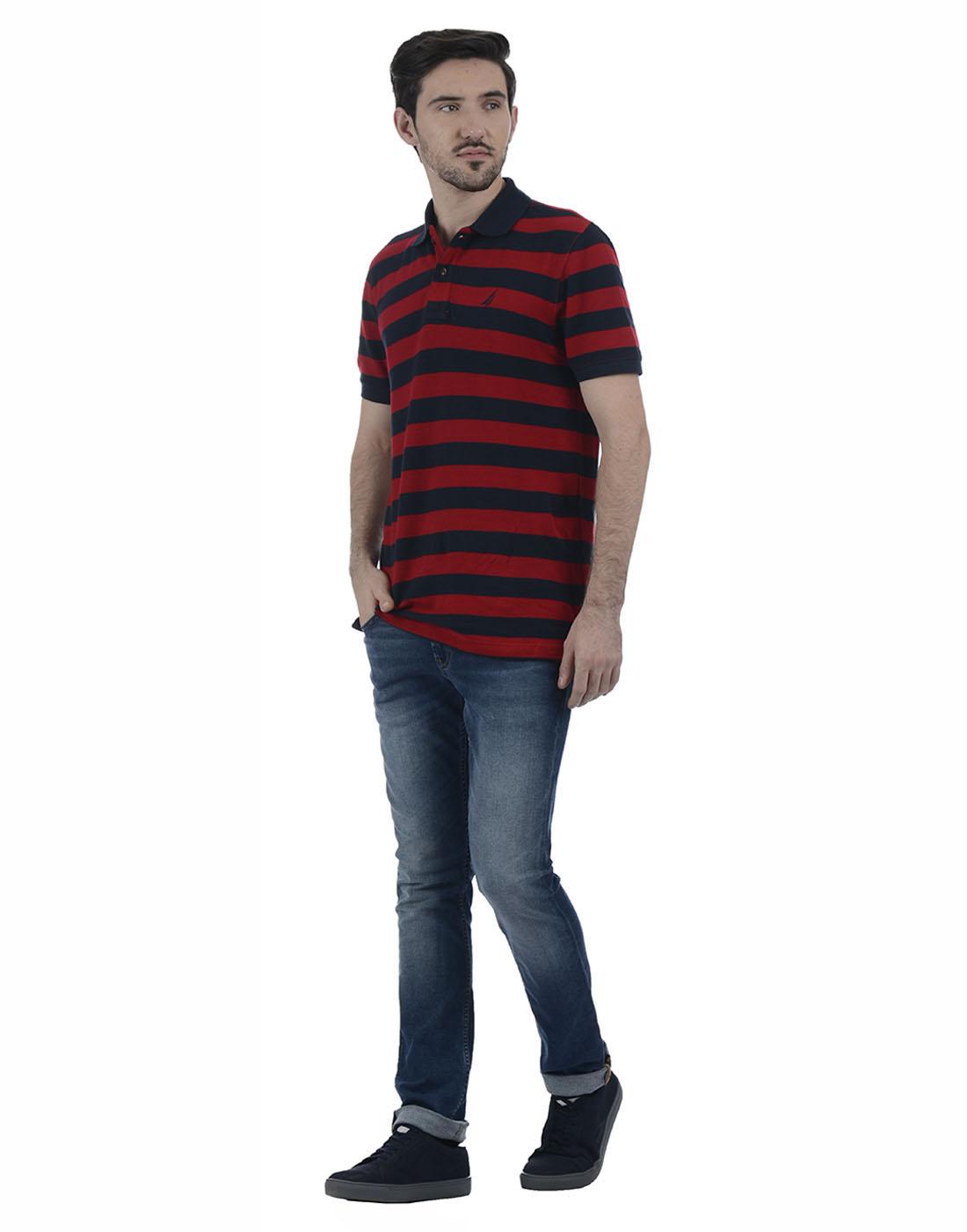 Nautica Men Casual Wear Solid Jean