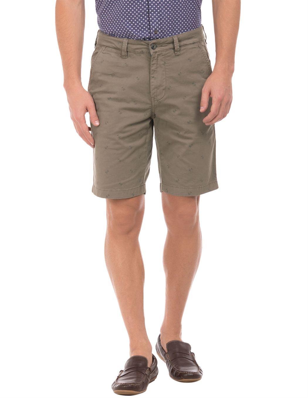 Nautica Men Brown Short