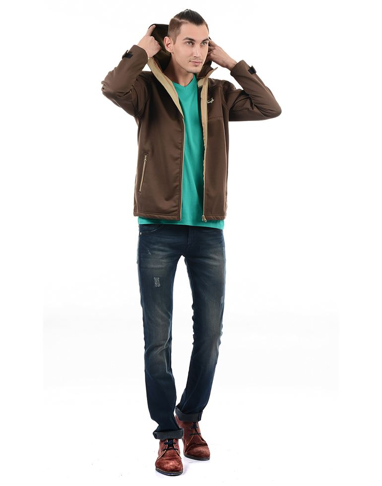 On-Vers Casual Solid Men Jacket