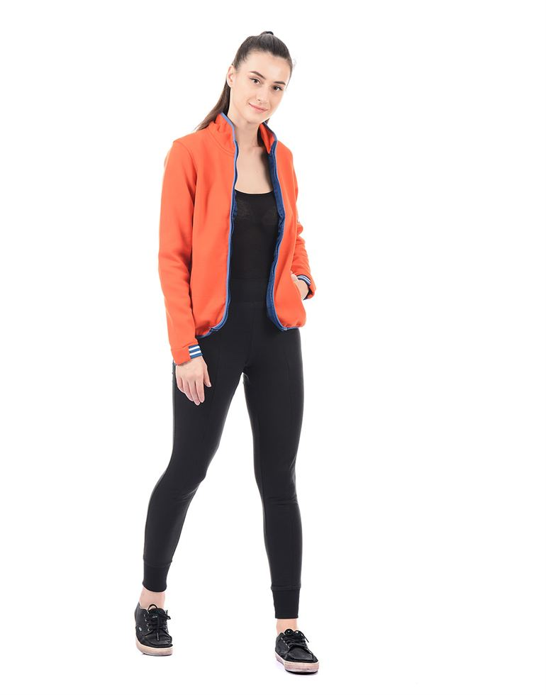 On-Vers Women Orange Jacket