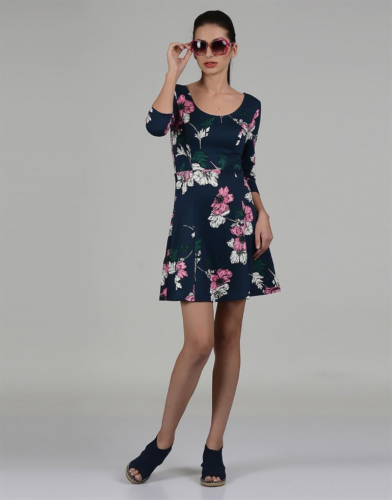 Only Casual Floral Print Women Dress