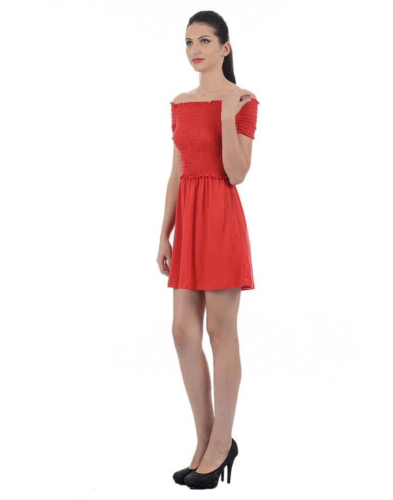 Only Casual Solid Women Dress