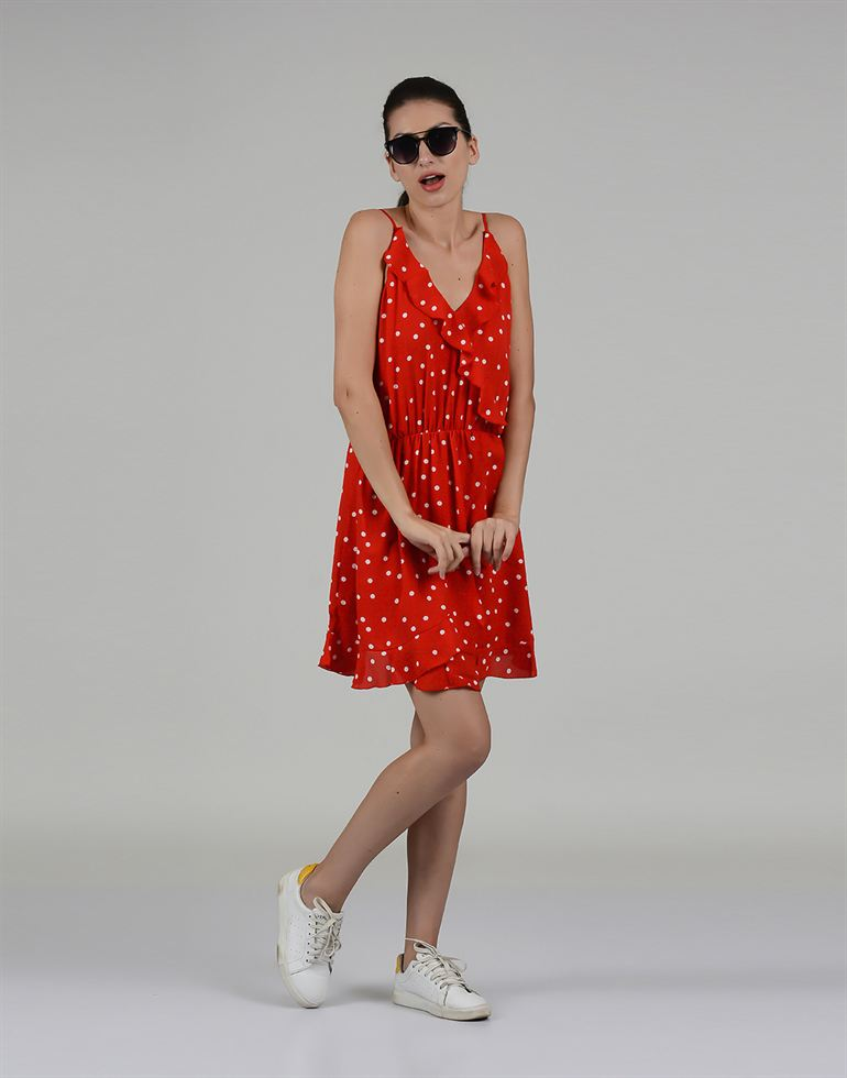 Only Casual Polka Print Women Dress