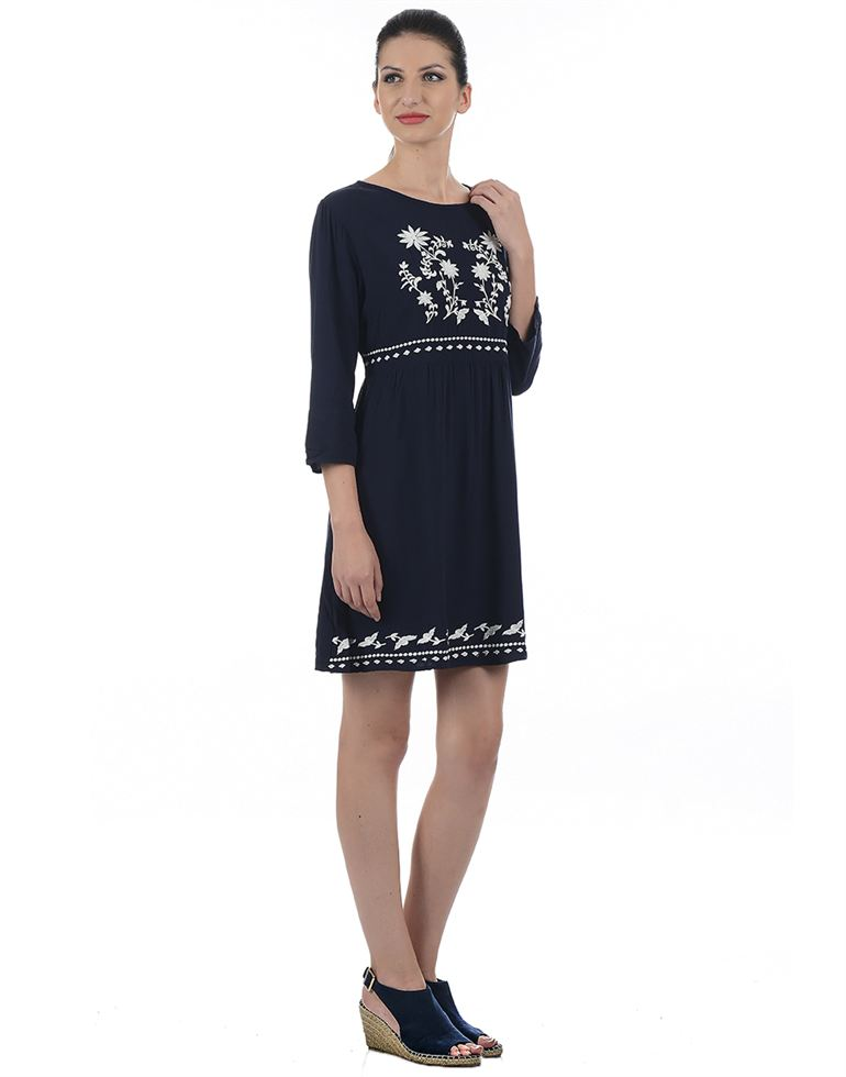 Only Casual Embroidered Women Dress