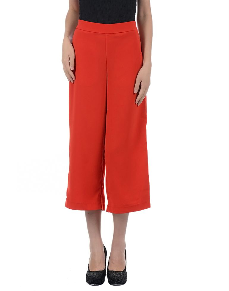Only Casual Solid Women Trouser