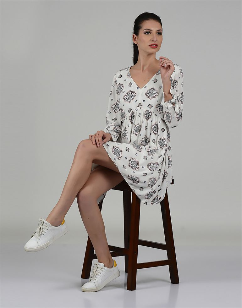 Only Casual Printed Women Dress