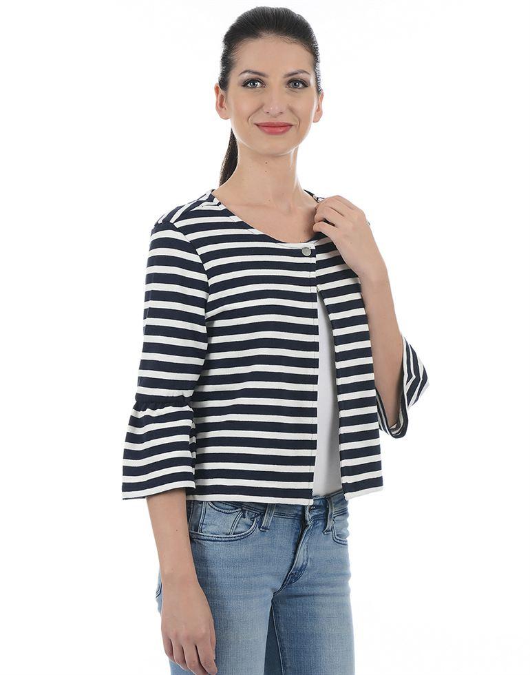 Only Casual Striped Women Blazer