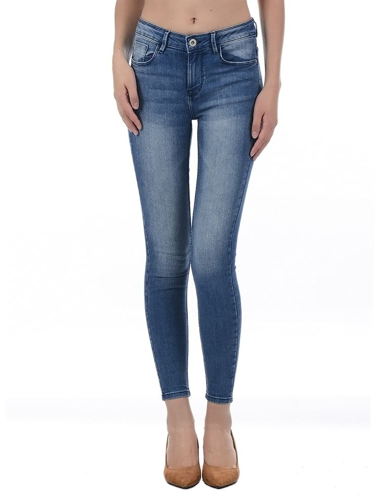 Only Women Casual Blue Jean