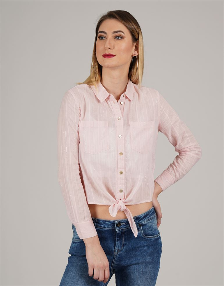 Only Casual Wear Solid Women Shirt