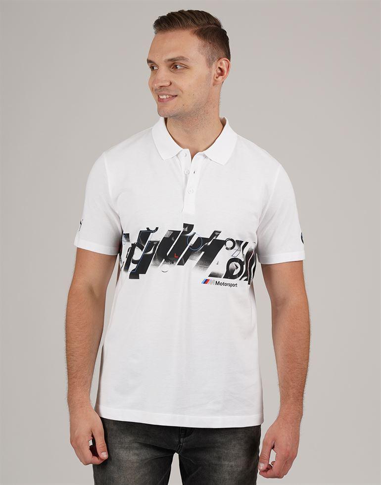 Puma Men Casual Wear Chest Print Polo T-shirt