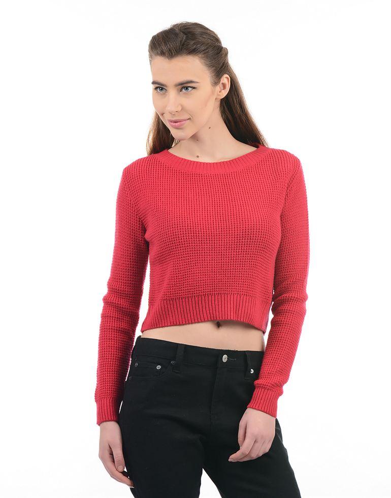 Species Women Red Sweater